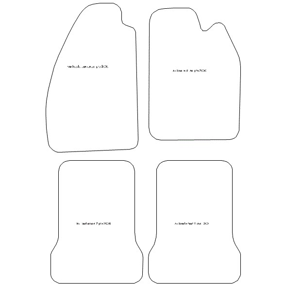 Volkswagen Beetle Car Mats 901 Your Car Parts